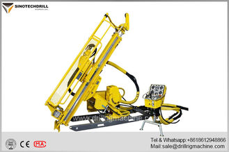 Cina Deep Hole Hydraulic Underground Core Drill Rig With PQ & HQ Max Rod Size 160Cc Rotation Motor pemasok